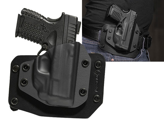 Outside the Waistband CCW Holster for XDS 3.3 with Crimson Trace Laser