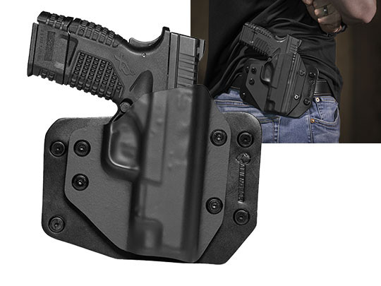 Outside the Waistband Concealed Carry XDS 4.0 Holster