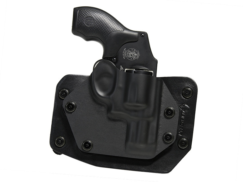 S&W J Frame 2 inch Barrel Cloak Slide OWB Holster (Outside the Waistband)