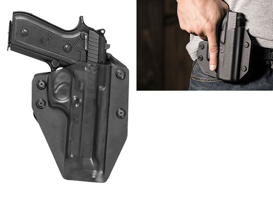 Paddle Holster for Taurus PT92 with Rail