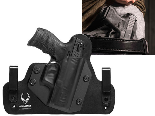 walther p22 hybrid holster for iwb carry alien gear holsters