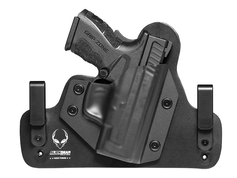 Leather Hybrid Springfield XD Mod.2 Subcompact 9mm/40cal 3 inch Holster