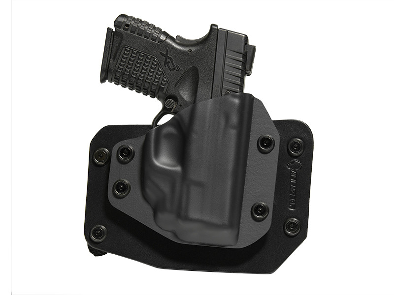 Springfield XDs 3.3 with Crimson Trace Laser LG-469 Cloak Slide OWB Holster (Outside the Waistband)