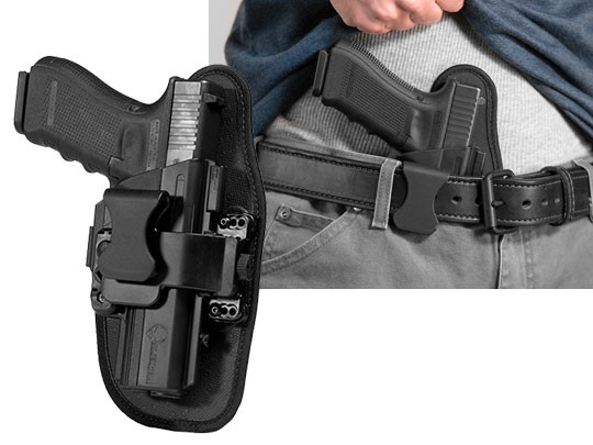 Glock 22 appendix carry holster