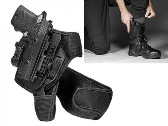 Sig P229r Railed 40 cal ShapeShift Ankle Holster