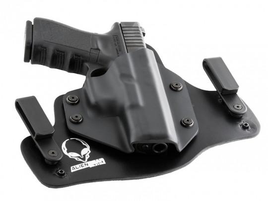 Glock - 17 with Viridian C5L Cloak Tuck IWB Holster (Inside the Waistband)