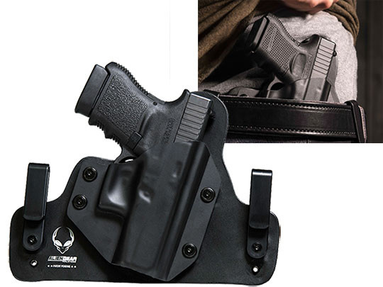 Hybrid Leather Glock 36 Holster