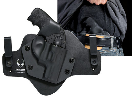 Hybrid Leather Ruger LCR 38 SPL Revolver Holster