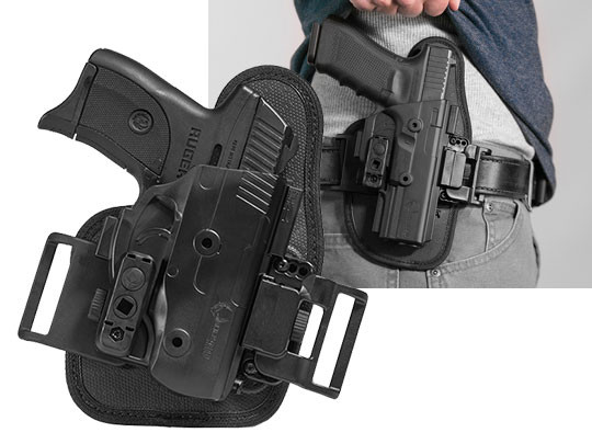 ruger lc9s shapeshift owb slide holster