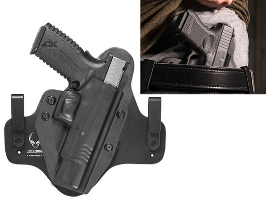 Hybrid Leather Springfield XDm 5.25 inch Holster