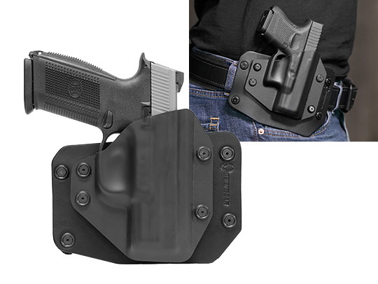 The Best FNH FNS Compact outside the waistband