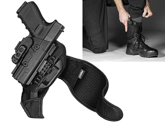 Glock 23 ShapeShift Ankle Holster
