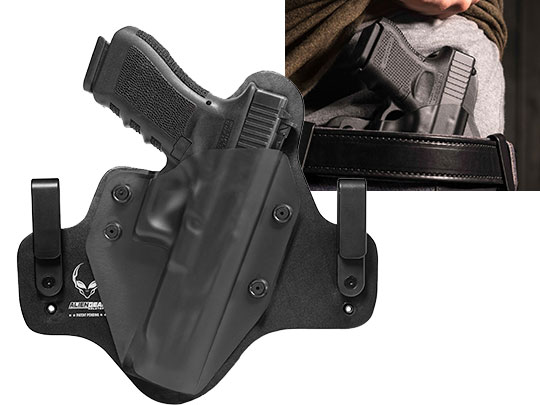Wearing Hybrid Leather Glock 34 Holster