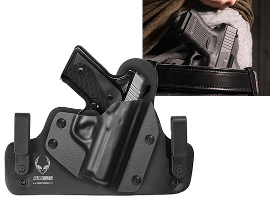Leather Hybrid Kimber Solo Holster