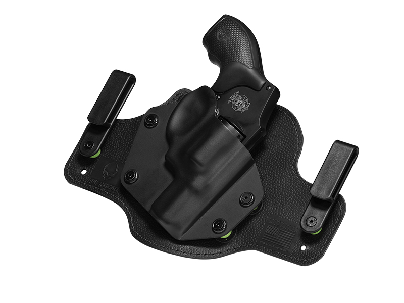 Ruger LCR 22WMR Revolver with LaserMax Laser Inside the Waistband Holster