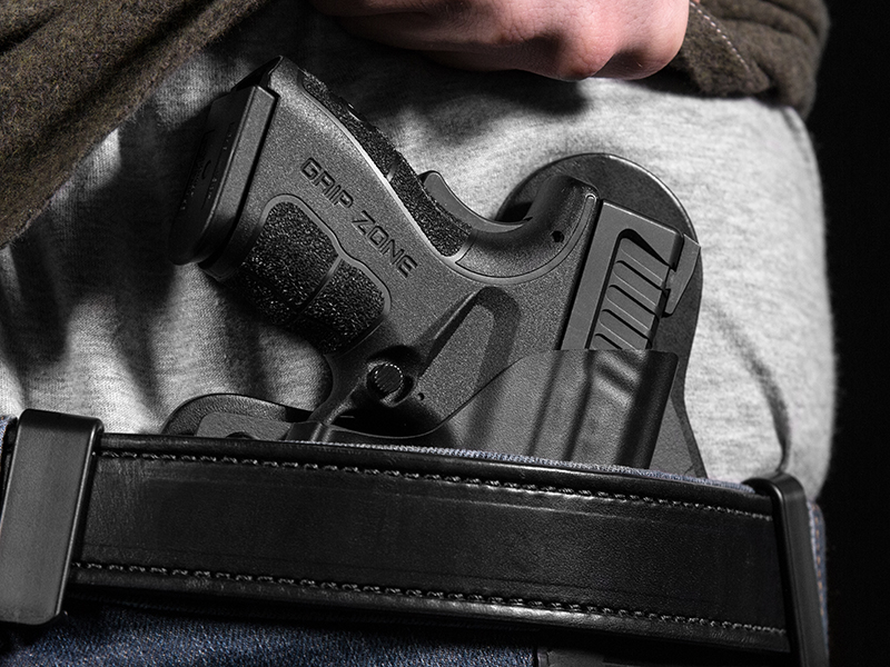 Wearing Hybrid Leather Springfield XD Mod.2 Subcompact 45ACP 3.3 inch Holster