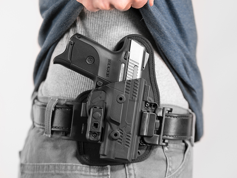 most comfortable owb holster fo rthe ruger sr9c