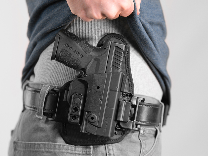 wearing an xd mod 2 owb slide holster