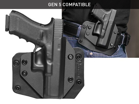 Outside the Waistband Concealment Holster for Glock 17 OWB Carry
