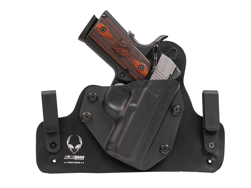 Leather Hybrid Para Ordnance 1911 Elite Carry 3 inch Holster