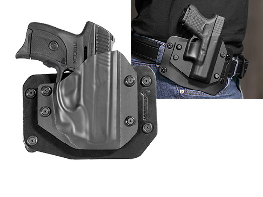 Outside the Waistband Holster for Ruger LC9s Crimson Trace LG-412