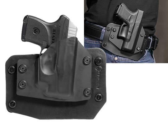 Outside the Waistband Holster for Ruger LCP Crimson Trace Laser LG-431
