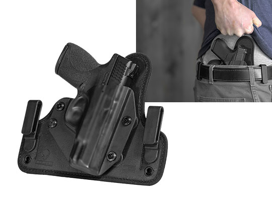 concealment holster for sw mp shield 45 caliber iwb carry