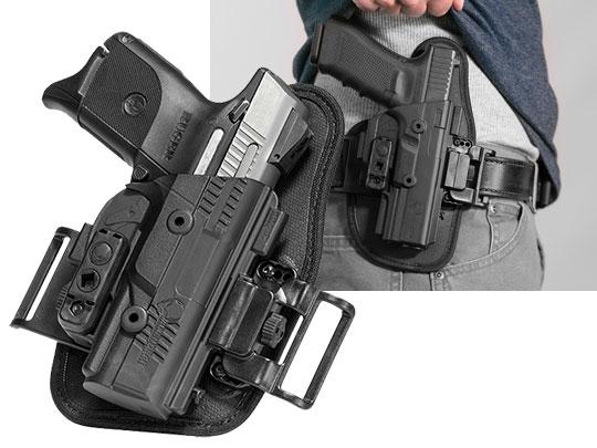 ruger sr40c owb slide holster