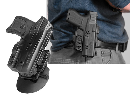 ruger lc380 outside the waistband paddle holster