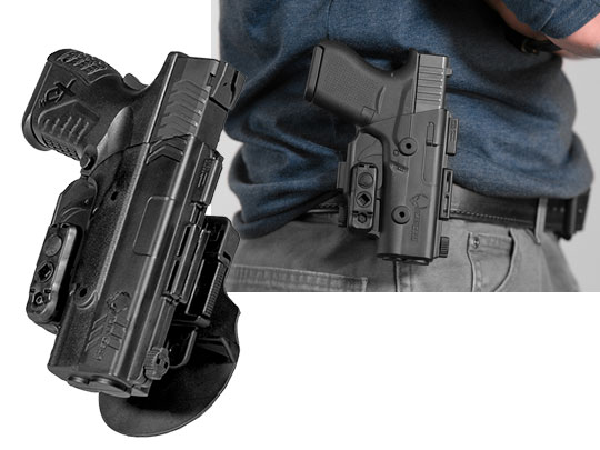 springfield xdm 3.8 shapeshift paddle holster