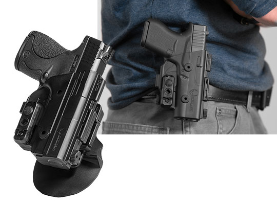 S&W Shield 40 caliber shapeshift paddle holster