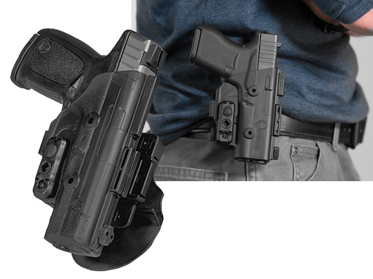 best S&W SD9 VE paddle holster