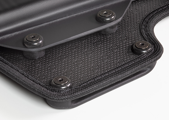 Sig 2340 / 2022 with rounded trigger guard Cloak Belt Holster