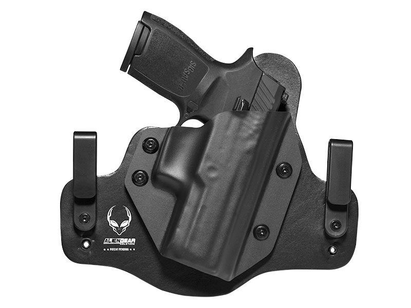 Leather Hybrid Sig P320 Compact/Carry Holster