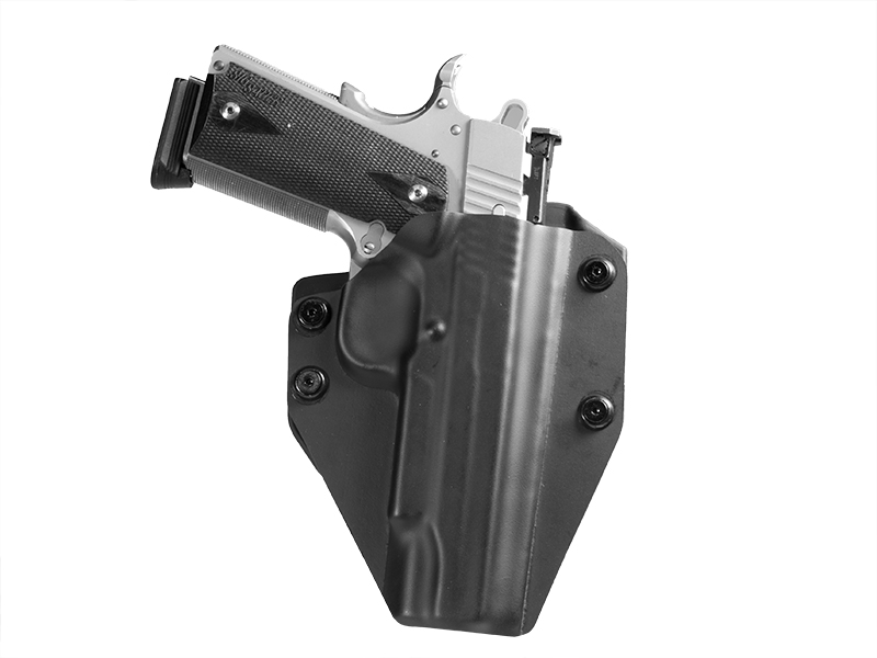 Sig 1911 5 inch barrel OWB Paddle Holster