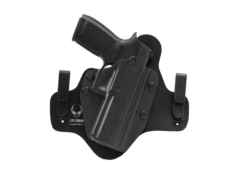 Leather Hybrid Sig P320 Full Size Holster