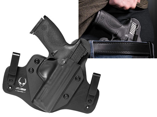 Best M&P9 Leather IWB Hybrid Holster