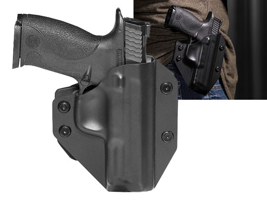 Paddle Holster OWB Carry with S&W M&P9 Fullsize