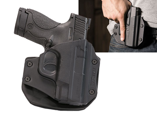 Paddle Holster OWB Carry with the Shield Performance Center