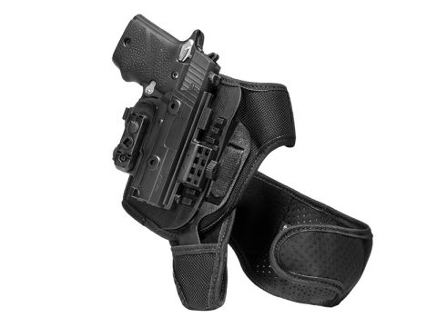 S&W M&P9 4.25 inch barrel ShapeShift Ankle Holster