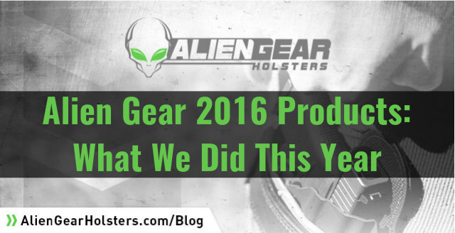 alien gear 2016 products