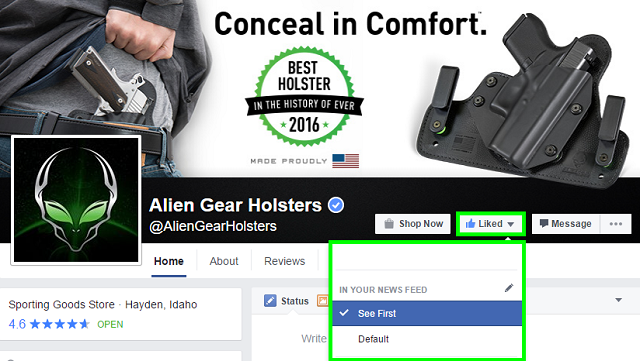 alien gear holsters facebook
