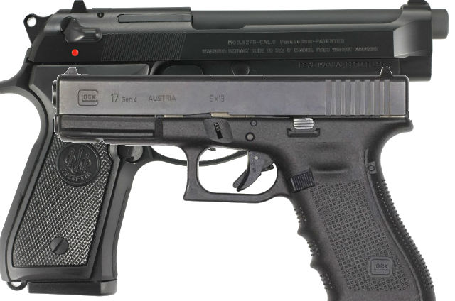 beretta 92 vs the glock 17
