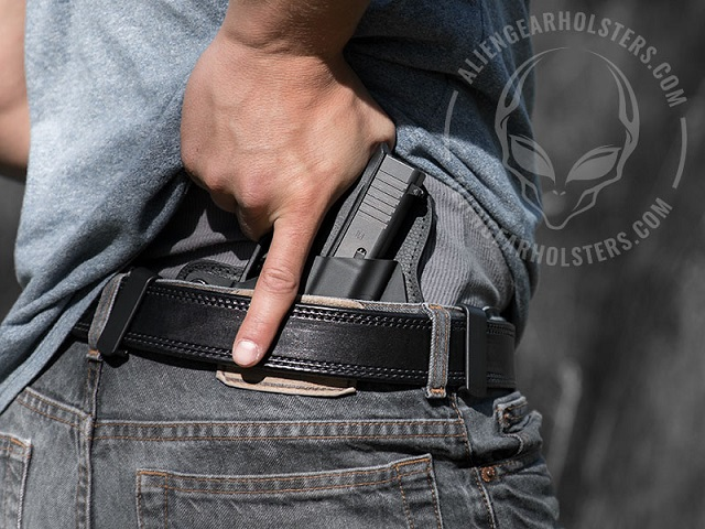 wearing an inside the waistband holster