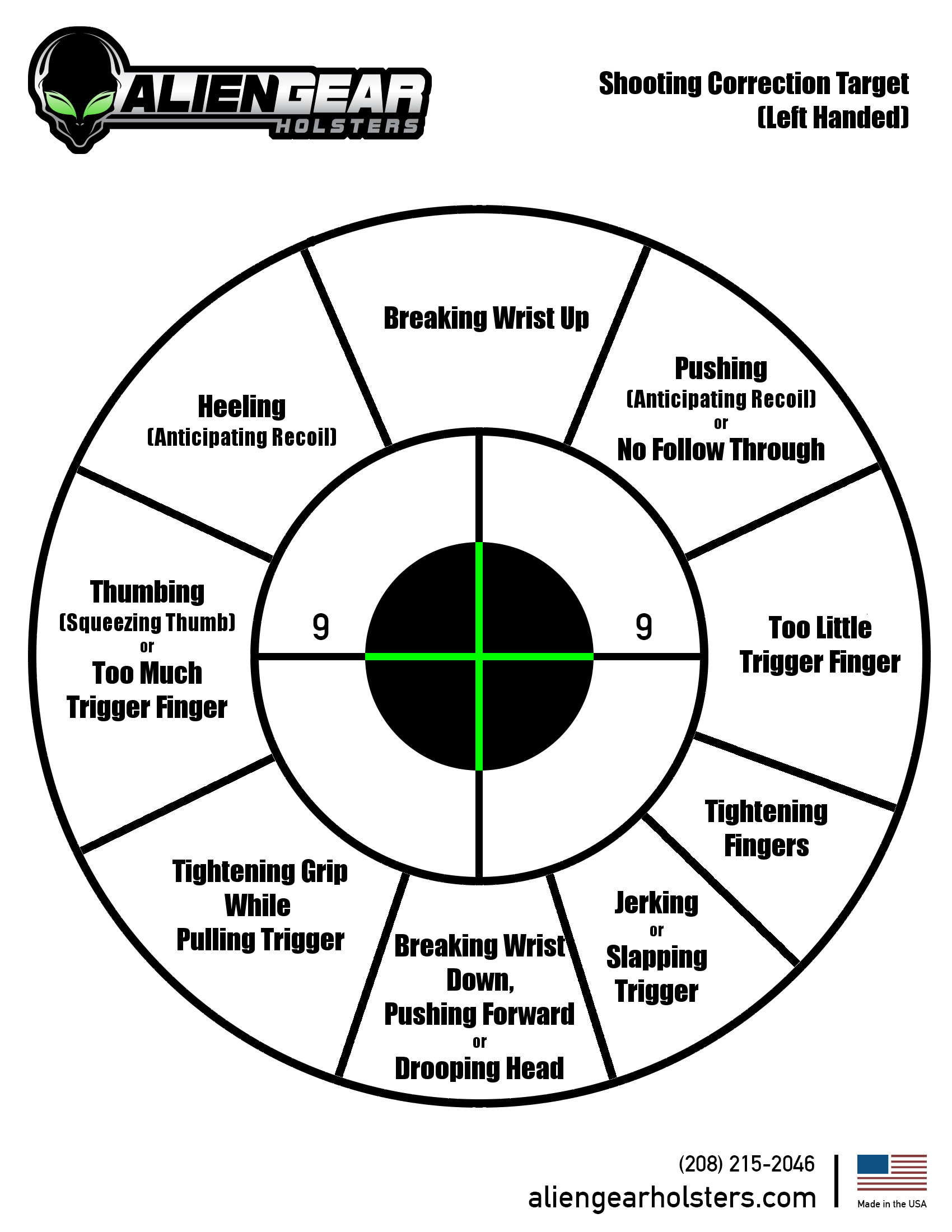 It is an image of Persnickety Shooting Target Pdf