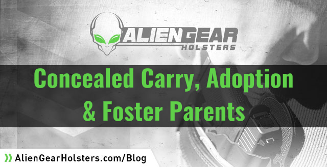 can foster parents own guns