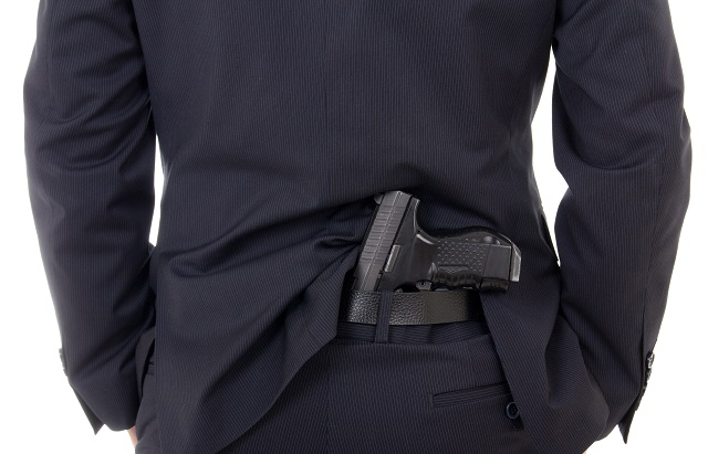 carrying concealed without a holster