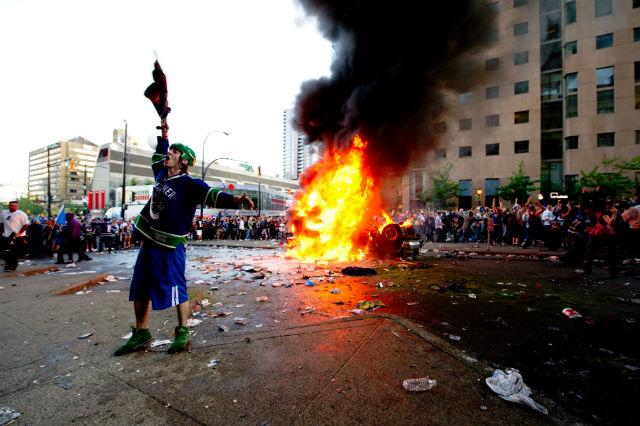 avoiding violent protests