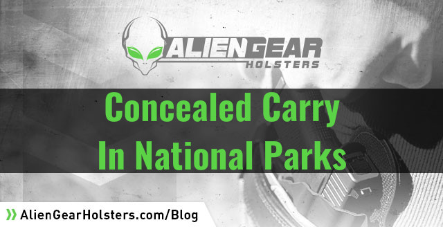 concealed carry at national parks
