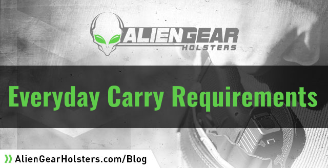 requirements to carry a gun